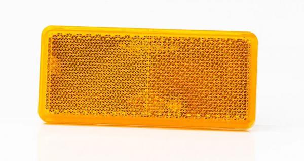 Reflektor Gelb zum Aufkleben 94 x 44mm