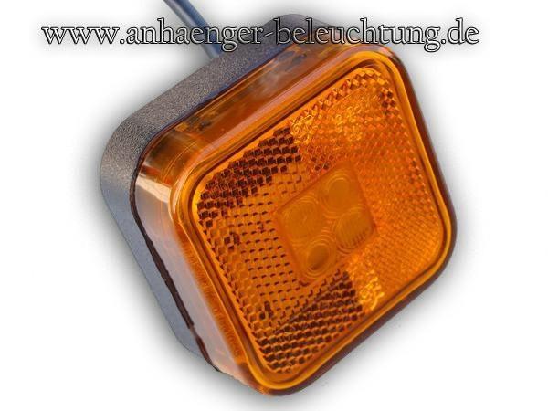 Umrissleuchte LED für die Seite, 12V/24V