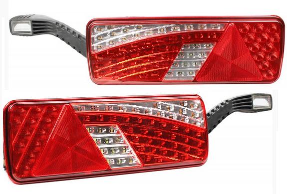 LED Rückleuchten LKW Anhänger, Umrissleuchten 10-30V