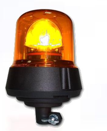 Power LED Warn/Blitzleuchte Gelb 12V/24V