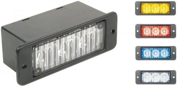 Sentinel LED Einbau Blitzmodul Blau 12-24V