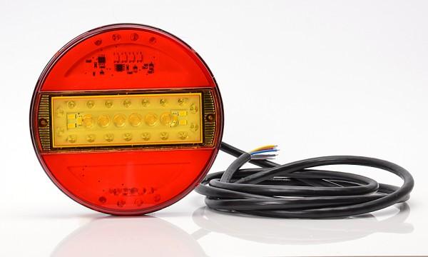 LED 5-Funktion Milchglas Leuchte 140mm- SLIM 9V-36V