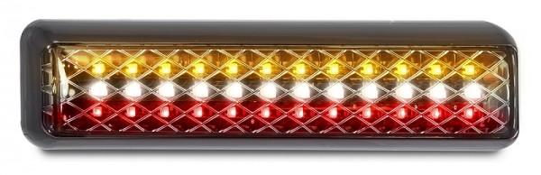 LED Slim 4-funktion Rückleuchte für 12V/24V