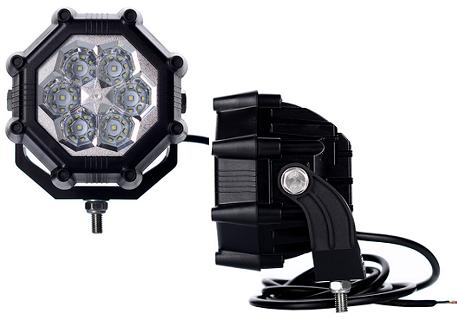 LED Arbeitsscheinwerfer für 12-24V - 1800 Lumen