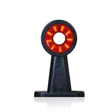 LED Begrenzungsleuchte rot-weiß 12V-24V