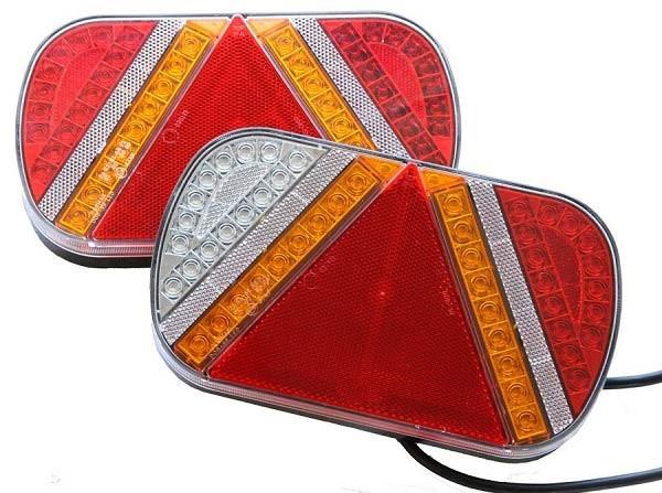 LED Mehrkammerleuchten 24V Paar