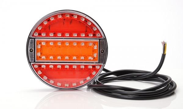 LED 3-Funktion Lampe 140mm - SLIM 9V-36V