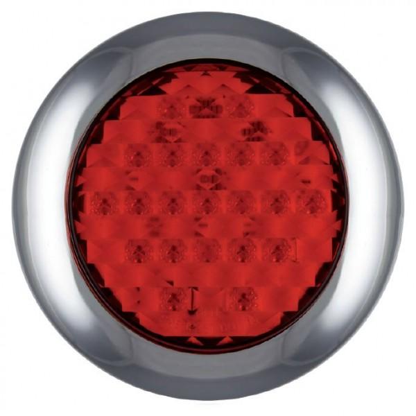 Rund Oberflächenmontage Lampe 2-Funktion 12-24 volt