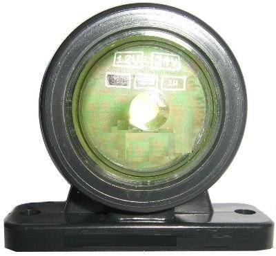 Begrenzungsleuchte rot-weiss LED 12-30V
