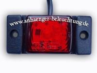 _ LED Umrissleuchte-Positionsleuchte Rot 12V/24V