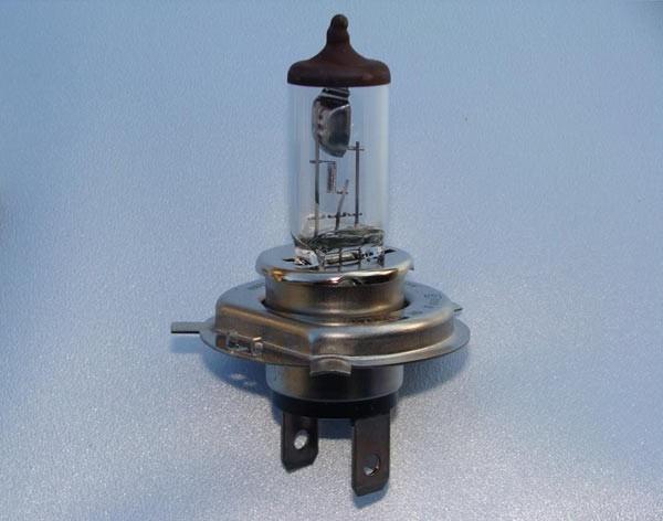 H4 Halogenscheinwerferlampe 24V 75-70W P43t