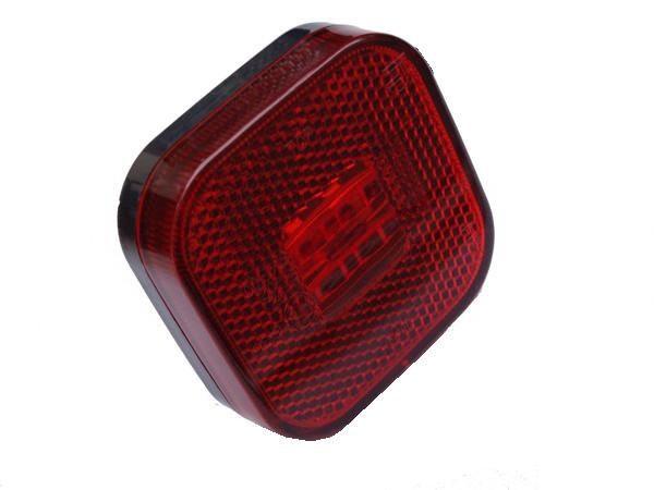 Led Positionsleuchte Rot mit Reflektor