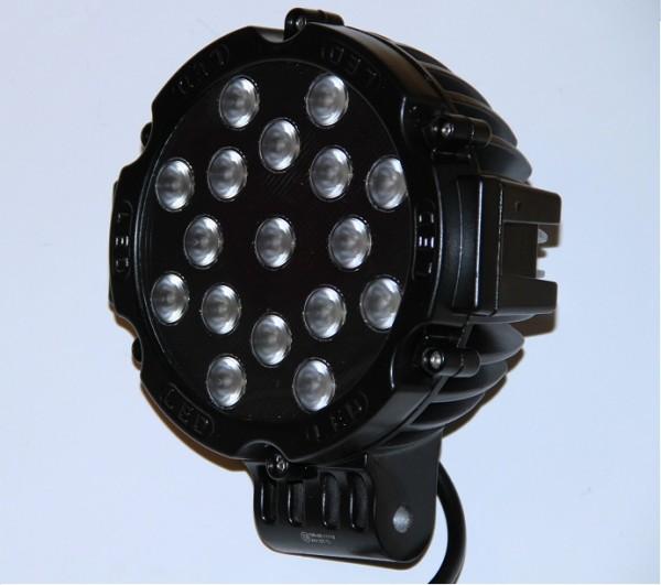 LED Arbeitsleuchte 17 x 3 Watt Rund