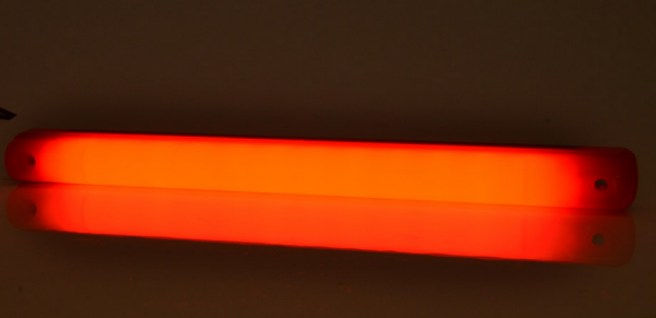 LED Stab Hintere Umrissleuchte Neon-Effekt Rot 12V-24V