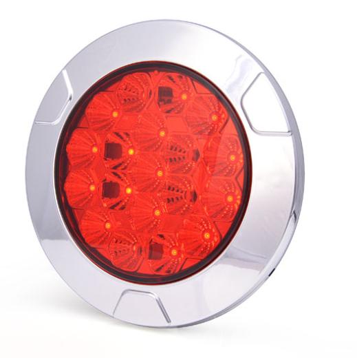 LED Nebelschlussleuchte 12V-24V Einbau-Aufbau