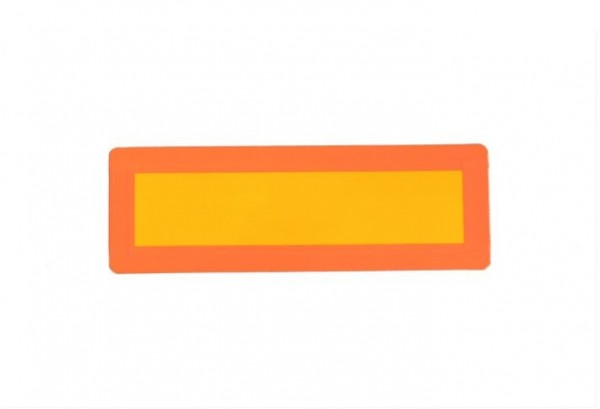 LKW, Warnschild auf der Tafette Paar (300x100mm)