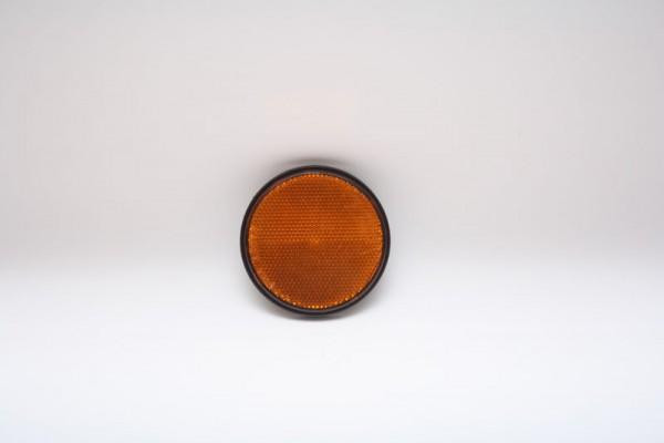 Reflektor Gelb von Radex mit Aufkleber 60mm