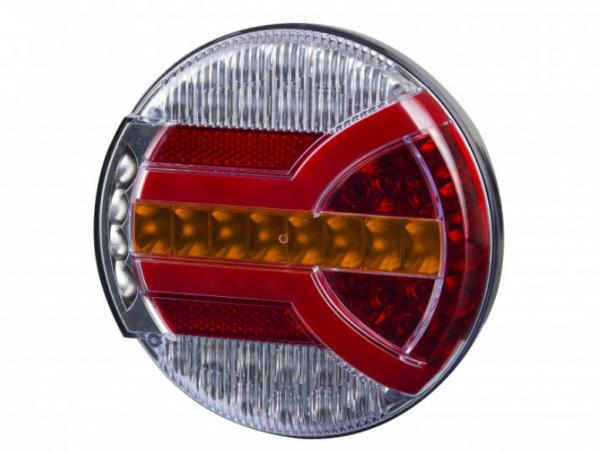 LED NEON Heckleuchte LKW, PKW Dynamische Blinker 12-24V