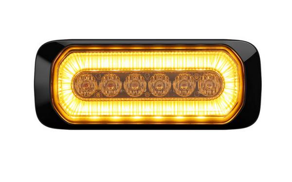 LED Warnlicht Gelb u. Seitenmarkierungsleuchte Gelb