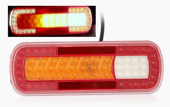 LED Rückleuchte - Dynamik Blinker LKW 12-24V