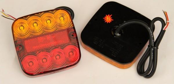 LED Rückleuchte 3-funktion 12V
