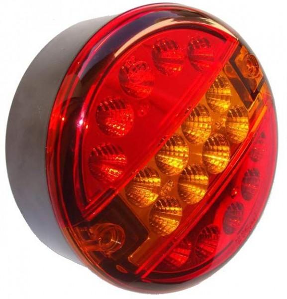 Dasteri 3-Kammer LED:Rücklicht, Bremslicht, Blinker von 9-33V