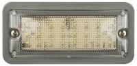 _ Innen Rechteckige Leuchte grau LED 12V
