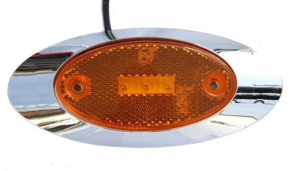 LED Groß Umrissleuchte Gelb 9 - 32V