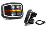 _ Scheinwerfer, Hauptscheinwerfer LED 6-Funktionen-Links-1