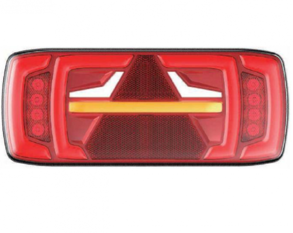 Neon Anhänger Rücklicht Links, Dynamik Blinker