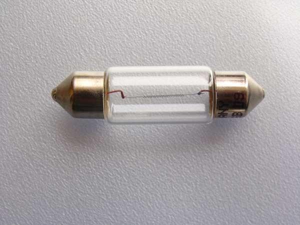 24V 10W Glühlampen SV 8,5-8 Soffittenlampen