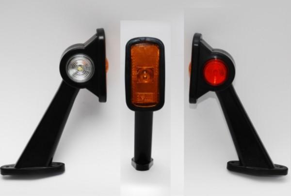 LED Begrenzungsleuchten mit Seitenmarkierungsleuchte Paar