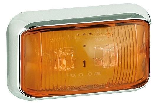 LED Umrissleuchte Gelb 12V/24V