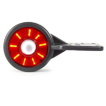 LED Umrissleuchte mit flexiblem Pendel Rot-Weiß 12V/24V