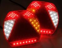 _ LED SLIM 6-Kammer Leuchten Lkw - Anhänger 12-24V