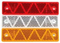 _ Reflektor groß Gelb, Rot oder Weiß zum Aufschrauben