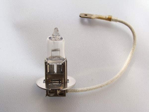 H3 Halogenscheinwerferlampe 24V-70W PK 22s