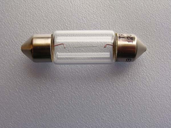 12V 10W Glühlampen SV 8,5-8 Soffittenlampen