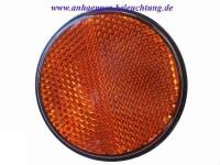_ RADEX Seitenreflektor Orange mit Schraube 60mm-1
