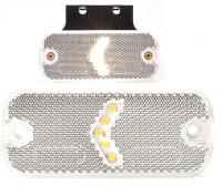 _ LED-Begrenzungsleuchte mit-ohne Halter 12-24V Weiß-1