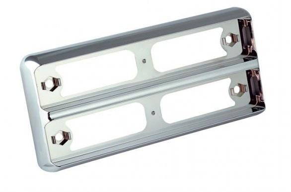 Chromspange Doppelt für LED Leuchten 200mm