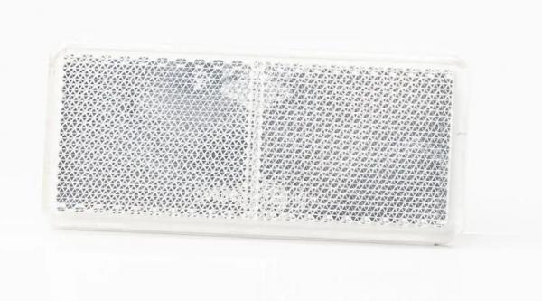 Reflektor Weiß zum Aufkleben 94 x 44mm