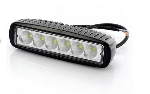 Arbeitslampe LED 6x3W Spot