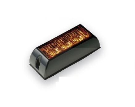 LED-Warnleuchte Gelb 12V/24V