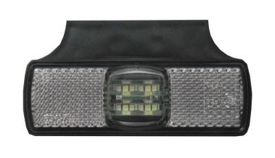 LED Umrissleuchte Positionsleuchte Winkel Weiß 12-30V
