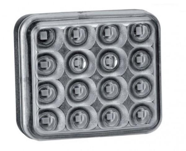 LED Nebelschlussleuchte 12-36V Klarglas