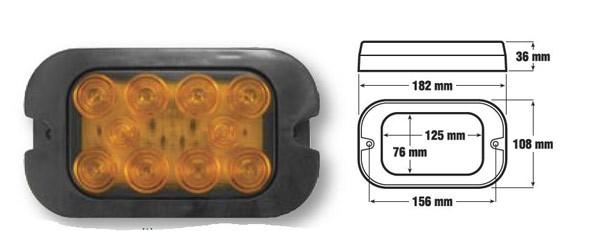 Kunststoff-Aufbaugehäuse, einzeln