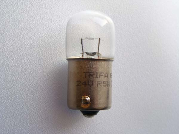24V 5W Glühlampen R5W BA15s