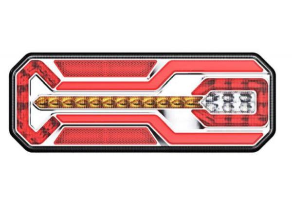 LED, LKW Rücklicht links, Dynamische Blinker