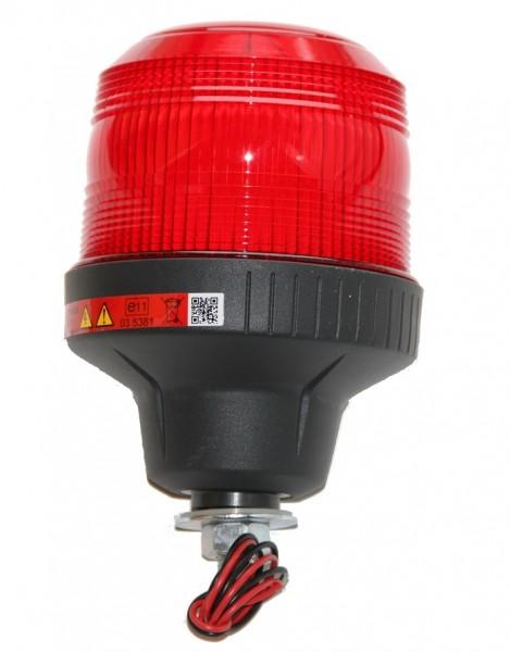 Blitzleuchte Xenon Rot 12/24V mit Schraube